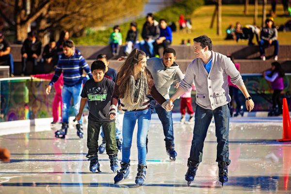 ICE at Discovery Green. It's a fan favorite!