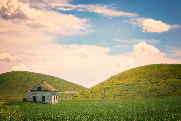 Rural Utah in all its charm. Landscape photography.