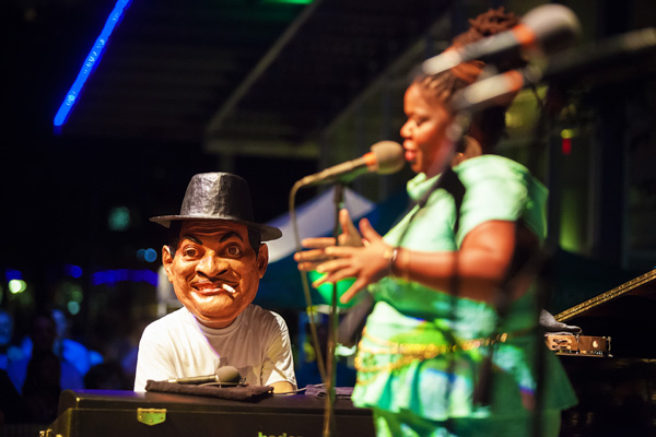 Jason Moran brought the music and the fun to the park.